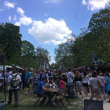 Love, sun, crowds and more, the Brussels Food Truck Festival was a success
