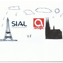 Sial (Paris) vs Anuga (Cologne), the battle of the giants