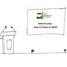 Preview du prochain rendez-vous du SMA : How to thrive in 2025?