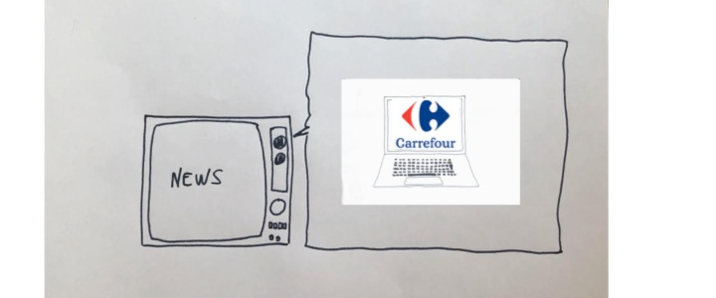 Carrefour offers local products online