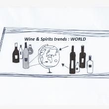 The Vinexpo Study indicates the main trends in the global wine and spirits market